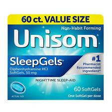 Unisom SleepGels Nighttime Sleep-Aid SoftGels 60
