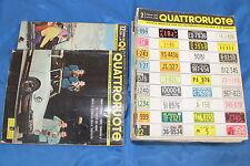 rivista d'automobile QUATTRORUOTE ANNATA COMPLETA 1959 1/12