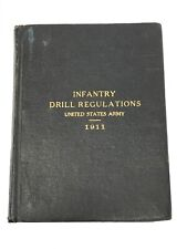 1911 Us Army Drill Regulation Book