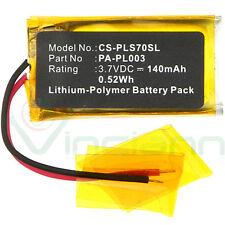 Batteria PLS70 X-Longer per cuffie auricolari PLANTRONICS Voyager Pro UC 140mAh