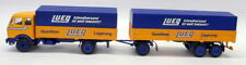Conrad 1/50 31OCT2017K Mercedes Benz Lueg Covered Truck + Trailer Model Truck
