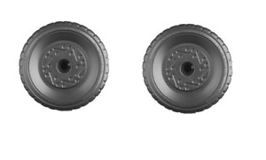 Fisher Price Power Wheels Mustang Wheel Tire Left & Right Side Genuine 2 Pack