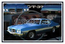 1971 71 Pontiac GT 37 Poster Print