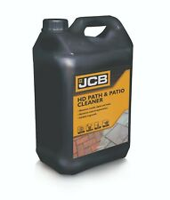 Path and Patio Cleaner JCB 5L Heavy Duty Concentrate Removes algae and mould