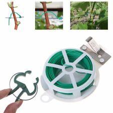 40x riutilizzabile giardino pianta sostegno Molla Clip di plastica ALBERO CESPUGLIO TIE UK Vendita