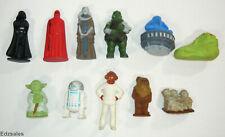 11 Vintage Star Wars ROTJ Erasers Vader Guard Jabba Yoda R2D2 Akbar Ewoks