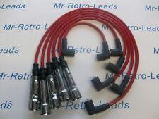Rojo 8MM Rendimiento Encendido Cables Audi Coupe Quattro 2.3 2.2 Gt 2.0 81>96