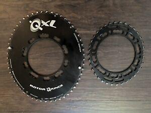 Rotor QXL road Chain rings 110 53 38 5 bolt black