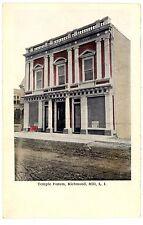 Richmond Hill Queens LI NY -TEMPLE FORUM- Postcard