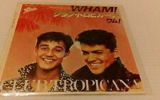 WHAM - CLUB TROPICANA VINYL SINGLE EPIC GEORGE MICHEAL RARE japanese single 45