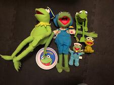Kermit The Frog Lot Plush Muppets