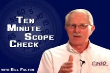 10 Minute Scope Check Testing/DVD/ Manual/ 145