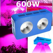 COB 600W LED Grow Light Lamp Full Spectrum Veg Bloom for Indoor Plants Blue
