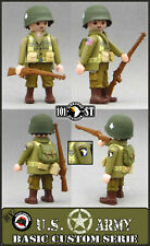 USA TIRADOR 101 AIRBONE PARATROOPER NORMANDIA WW2 CUSTOM PLAYMOBIL WAR WESTERN