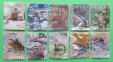 Nederland Compleet Beleef de Natuur Reptielen 2018 mooi gestempeld echt gelopen