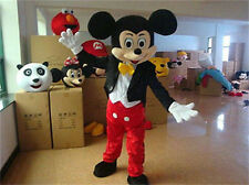 Crazy Sale Mickey Mouse Mascot Costume Adult Size Fancy Dress Halloween!!