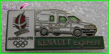 Pin's Jo Jeux Olympique Albertville 92 RENAULT Voiture Renault Express #1777