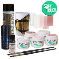 *PolyGel SOFT TOUCH Starter Set XL* - UV/LED - ((Neue Formel, soft cremigl!!))