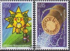 Luxemburgo 1906-1907 (completa.edición.) usado 2011 viticultura