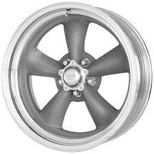 "American Racing VN215 Torq Thrust II 15x4 5x114.3/5x4.5"" -25mm Gray Wheel Rim"