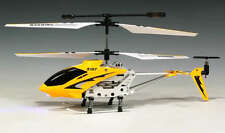 SYMA S107G Gyro RC Helicopter S107 Infrared 3CH Mini Alloy Metal Heli - Yellow