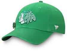 New Chicago Blackhawks Lucky Irish St Patricks Day Adjustable Hat golf dad B72