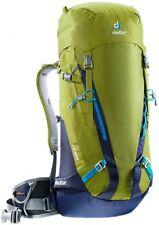 Dos À Dos Ski Alpinisme Randonnée Pédestre Deuter Guide 35+ Moss-marine