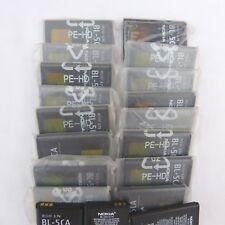 Lote de 19 baterias nokia BL-5CA/Desconocemos si todas funcionan.