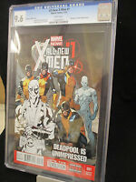 All New X-Men #1 Immonen Deadpool Partial Sketch Variant CGC 9.6 NM+ 2013