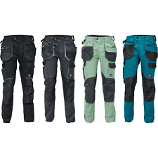 Dayboro Herren Arbeitshose Strapazierfähige elastische Bundhose Berufskleidung