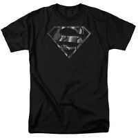 Superman MECH SHIELD Licensed Adult T-Shirt All Sizes