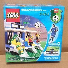 NEW LEGO Football/Soccer 3403 VTG 2001 Fans Grandstand with Scoreboard SEALED