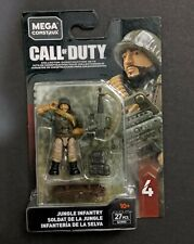 CALL OF DUTY JUNGLE INFANTRY GCN90  27PCS Series 4 - MEGA CONSTRUX C1/h