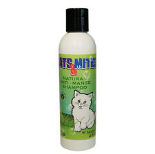 Cats n Mites Demodex Mange Shampoo for Treatment of Cats Kittens with Cat Mange