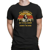 Well I'm Older Now But I'm Still Runnin Against The Wind Bob-Seger Vintage Shirt