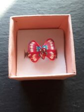 Brand new childs pink butterfly ring size K! Perfect gift! Fine jewellery!