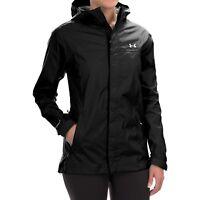 Under Armour Women's Storm Surge Jacket rain coat Black XS-L