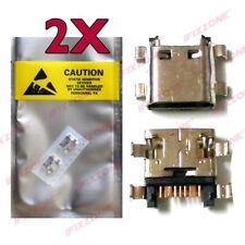 2 X New Micro USB Charging Sync Port METRO PCS SAMSUNG GALAXY J3 PRIME J327T1 US