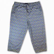 Psycho Bunny Men Bunny Print All Over Lounge Pajama Pants Celeste bunny 2XL XXL