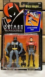 Vintage Batman The Animated Series Bruce Wayne MOC Kenner 1992
