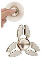 Fidget Spinner in Metallo Antistress Bambini Adulti Cuscinetto Veloce 2-4min
