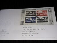 GB FDC CASTLES DEFINITIVES COVER bx5