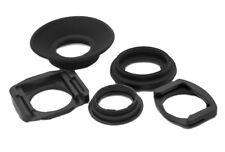 5in1 Augenmuschel Sucher Set Nikon DK-17 DK-19 / Canon EG EB EC EC-II Viewfinder