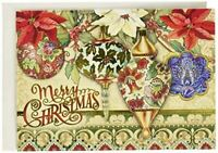 Folk Ornaments Christmas Cards (Set of 12) by Punch Studio