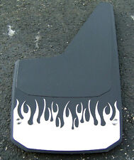 "Universal 18x10-3/8"" Splash Guards with Stainless Steel flamed Plate"