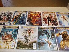 "Captain Atom in Wildstorms ""Armageddon"" issues 1-9"