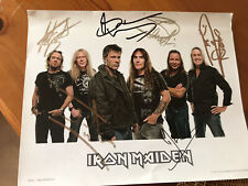 Iron Maiden Official Signed Photo