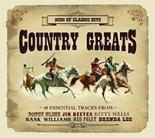 COUNTRY GREATS 2 CD (JIM REEVES, ROY ACUFF, KITTY WELLS, ...) NEUF