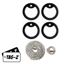 Dog Tag Repair / Tune Up Kit with Black Silencers