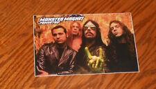 Monster Magnet Powertrip Sticker Postcard 1998 Promo 6x4 (devil horns) RARE